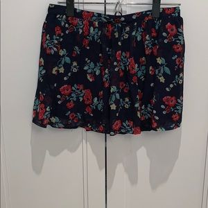Hollister skirt with flowers